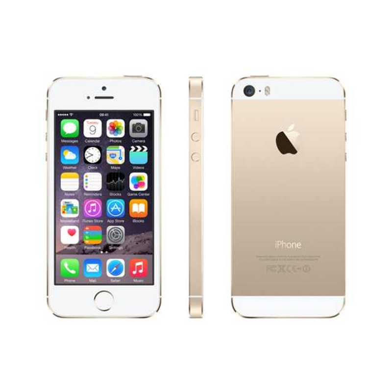 iPhone 5s 16GB Guld Olåst – Nytt batteri