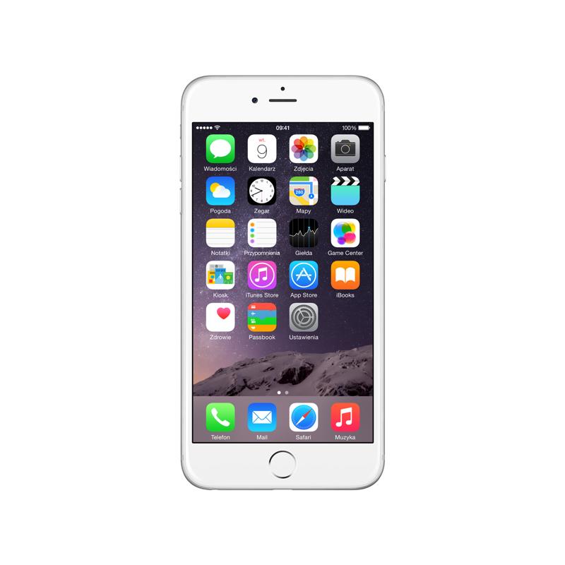 iPhone 6 Plus 64GB Silver Olåst