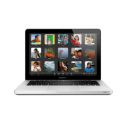 MacBook Pro 13-inch, Intel Core i5, 2,5 GHz (Ivy Bridge), 4 GB (1600 MHz), 500 GB HDD, Produktens ålder: 56 månader