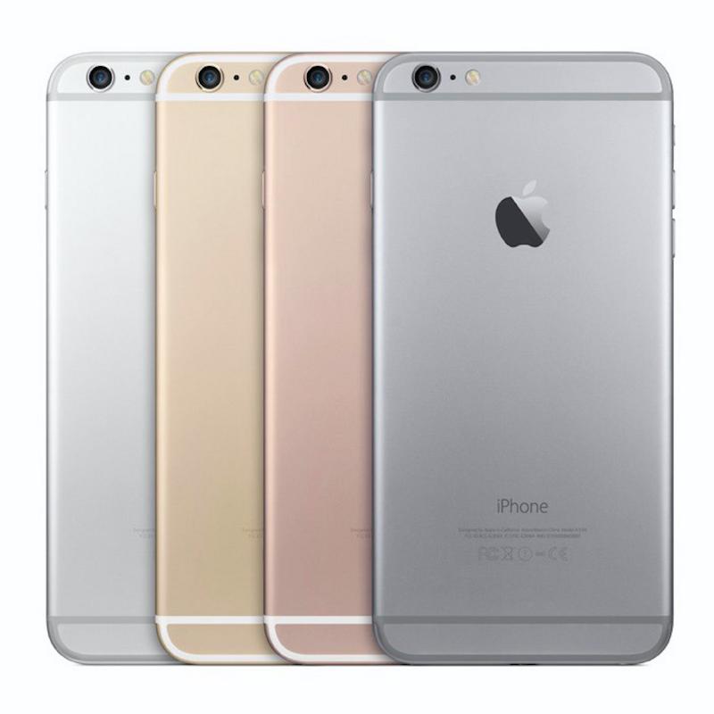 iPhone 6s Plus 128GB Rose Gold Olåst