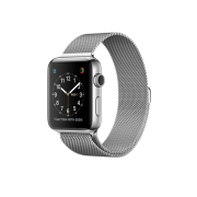 Watch Series 2 Steel (42mm), Red Sport Band + S/M part of White Sport Band