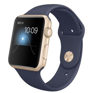 Watch 1st gen Sport (42mm), Sport Band, Midnight Blue