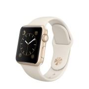 Apple Watch Watch Standard 38mm, Antique White Gold Stainless Steel Pin, Produktens ålder: 20 månader