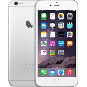 iPhone 6s Plus, 64GB, Silver, Produktens ålder: 32 månader