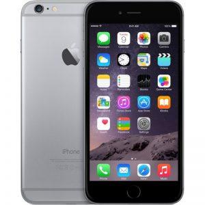 iPhone 6, 64GB, Gray, Produktens ålder: 43 månader
