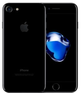 iPhone 7 128GB, 128GB, Jet Black