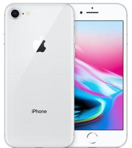 iPhone 8, 64GB, Silver, Produktens ålder: 5 månader