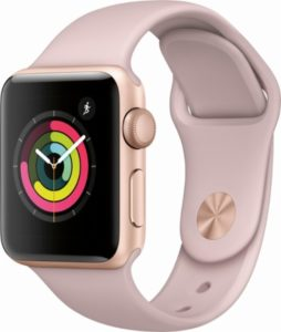 Watch Series 3 (38mm), Sport Band - Pink Sand