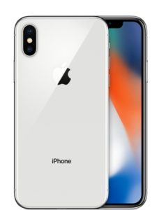 iPhone X 256GB, 256 GB, Silver