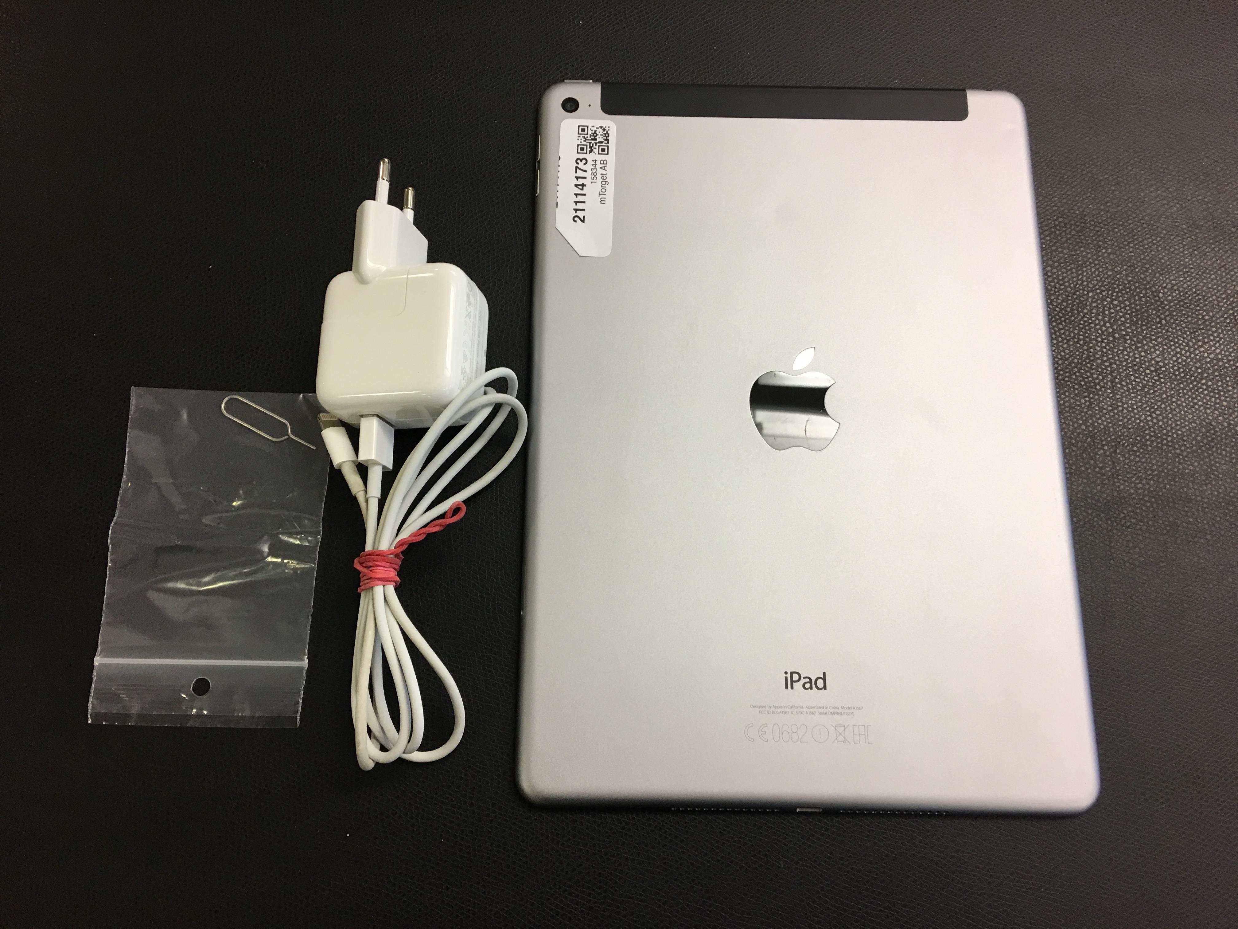 iPad Air 2 Wi-Fi + Cellular 64GB, 64GB, GRAY, bild 2