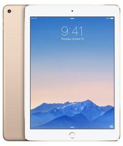 iPad Air 2 Wi-Fi 64GB, 64GB, GOLD