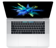 "MacBook Pro 15"" Touch Bar Late 2016 (Intel Quad-Core i7 2.7 GHz 16 GB RAM 512 GB SSD), Silver, Intel Quad-Core i7 2.7 GHz, 16 GB RAM, 512 GB SSD"