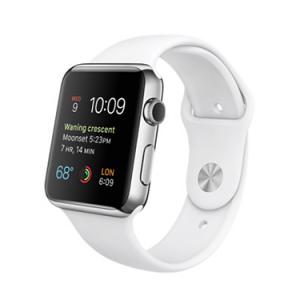 Watch Series 1 Aluminum (42mm), White