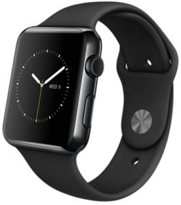 Watch Series 2 Aluminum (42mm), Black