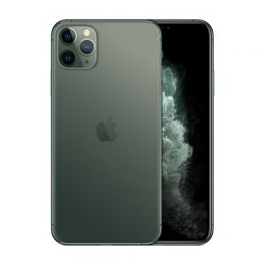 iPhone 11 Pro Max 256GB, 256GB, Midnight Green