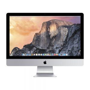 "iMac 27"" Retina 5K Late 2015 (Intel Quad-Core i5 3.2 GHz 16 GB RAM 256 GB SSD), Intel Quad-Core i5 3.2 GHz, 16 GB RAM, 256 GB SSD"