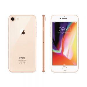 Restaurerad iPhone 8 - 512 GB SSD - Guld