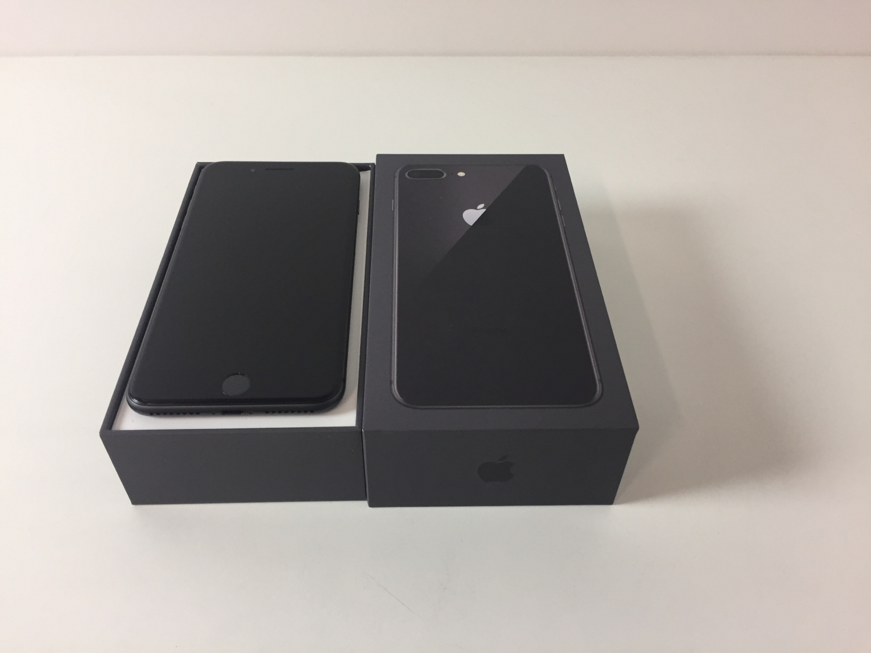 iPhone 8 Plus 64GB, 64GB, Space gray, bild 1