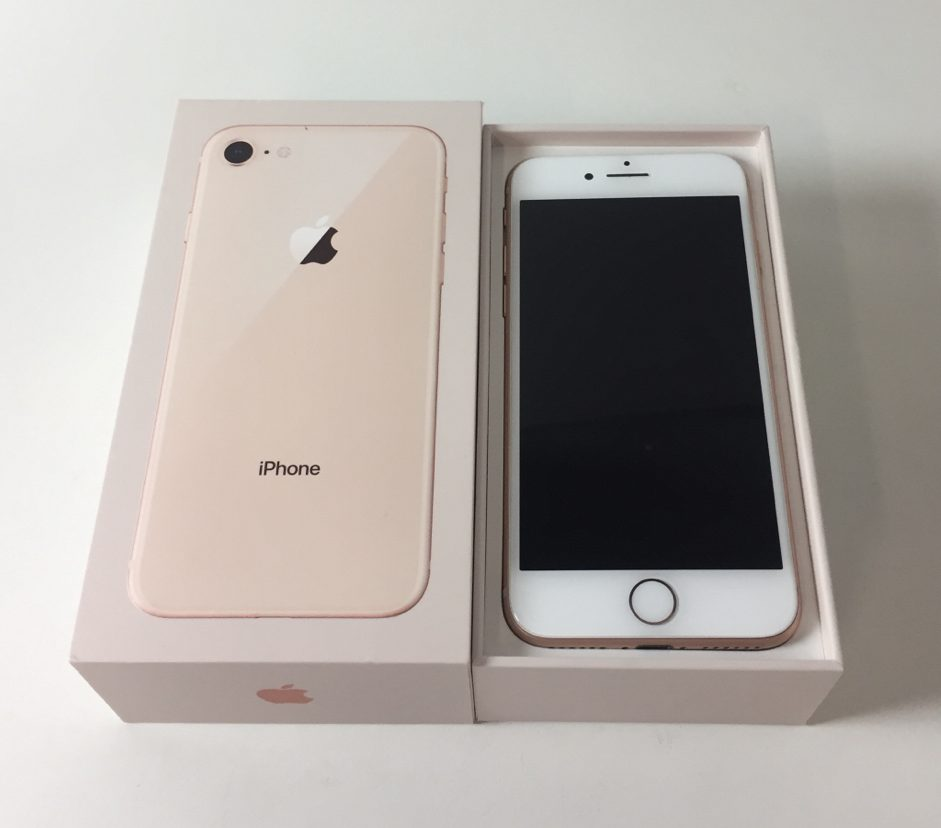 iPhone 8 64GB, 64 GB, Gold, obraz 1