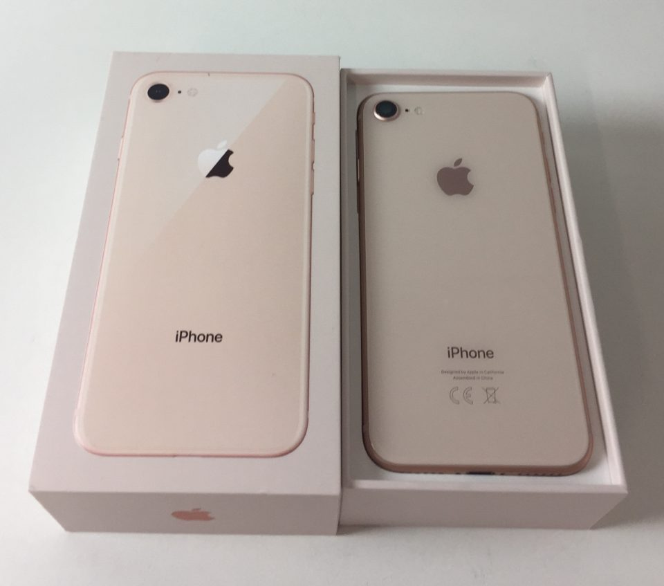 iPhone 8 64GB, 64 GB, Gold, obraz 2