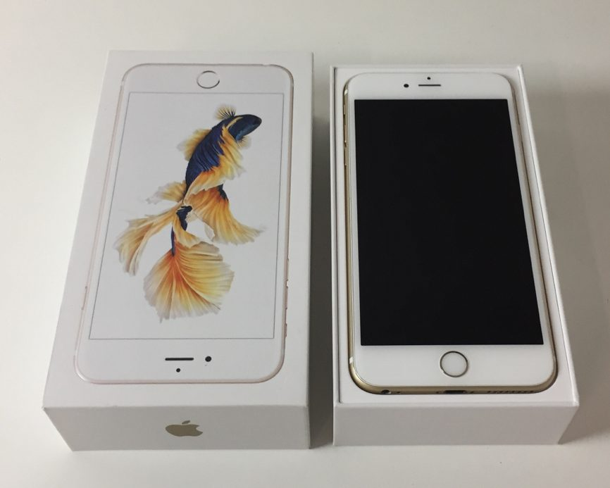 iPhone 6S Plus 64GB, 64GB, Gold, bild 1