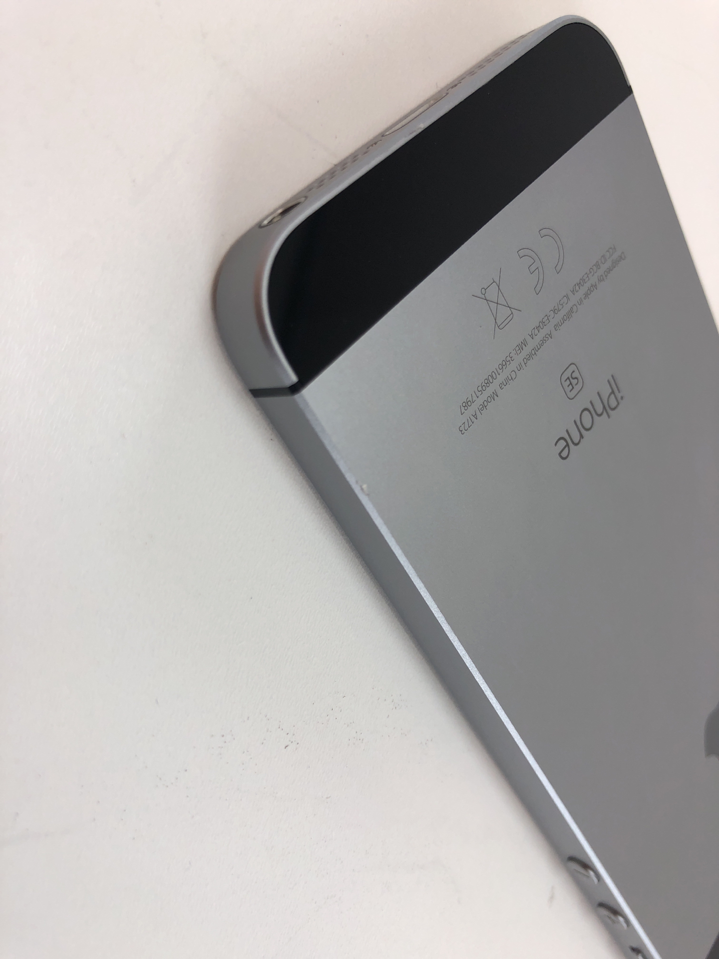 iPhone SE 32GB, 32GB, Space Gray, bild 5