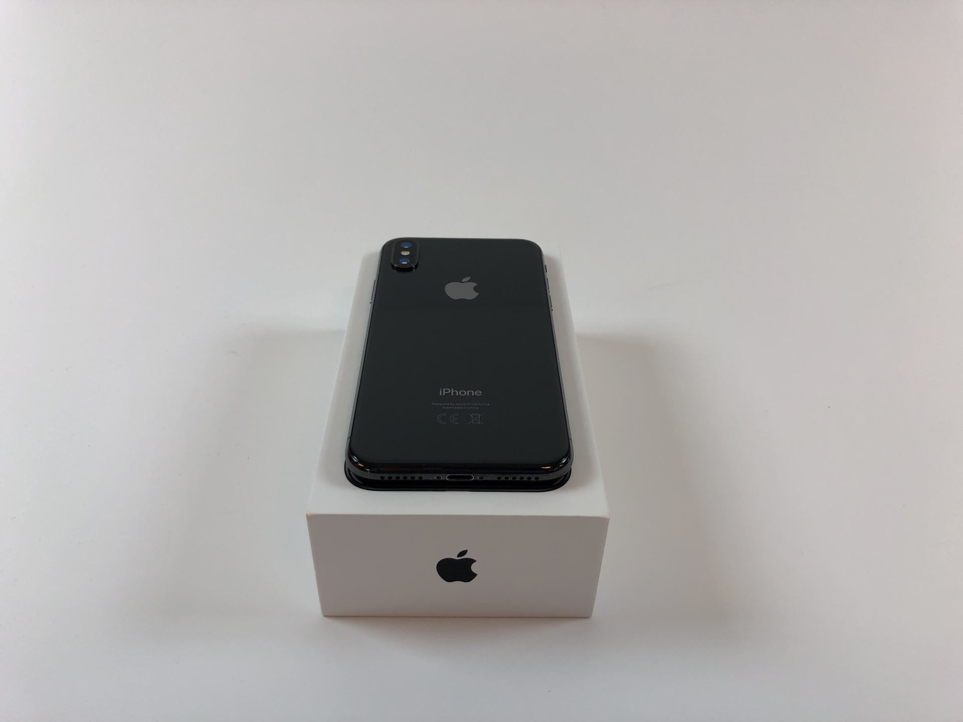 iPhone X 256GB, 256GB, Space Gray, bild 3