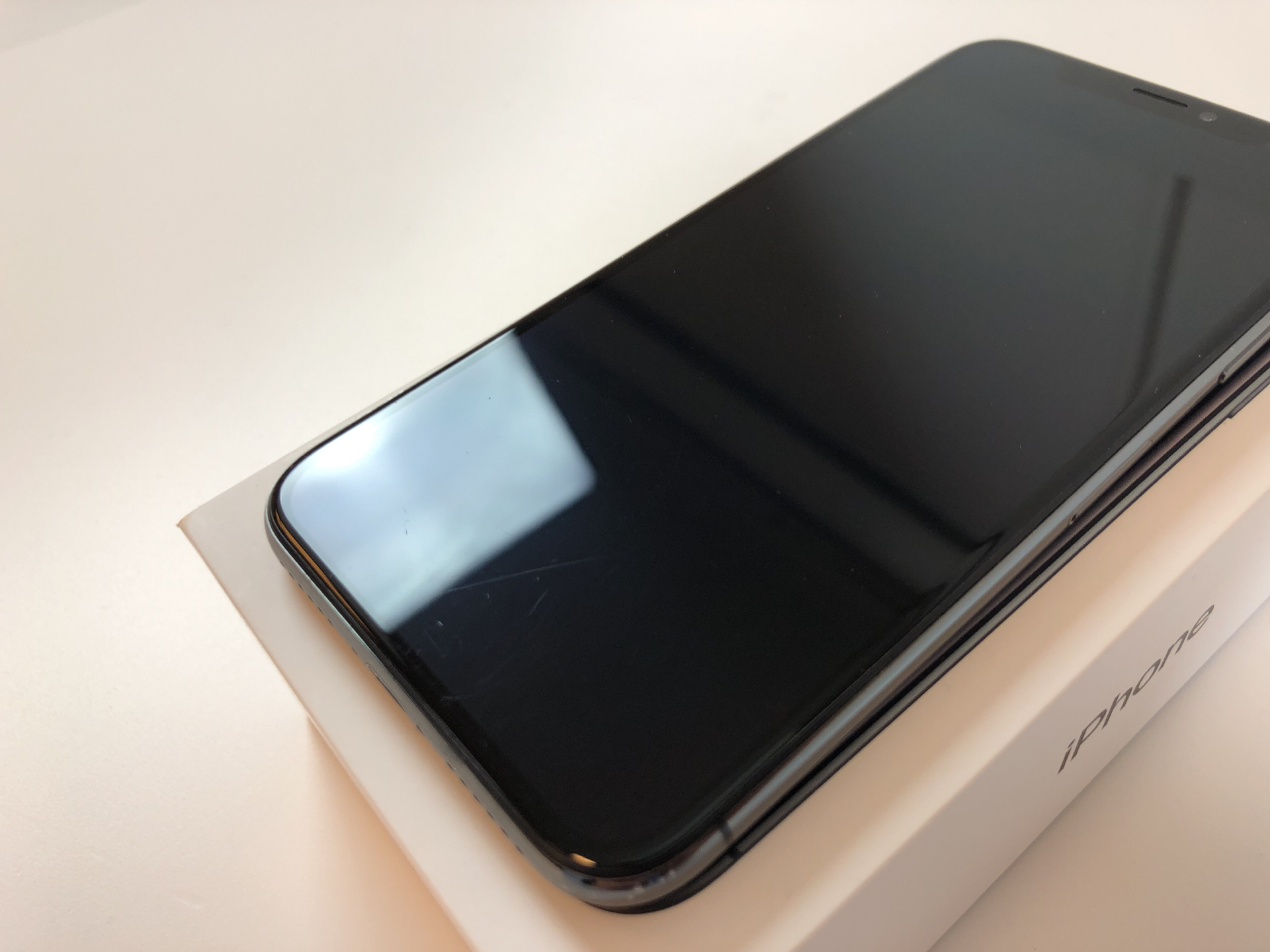 iPhone X 256GB, 256GB, Space Gray, bild 5