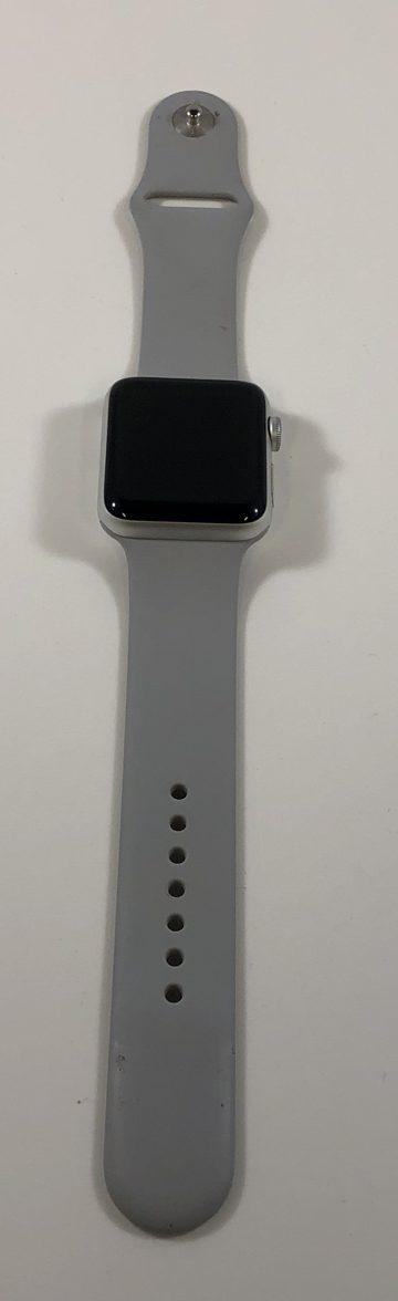 Watch Series 3 Aluminum (42mm), Silver, Fog Sport Band, bild 3