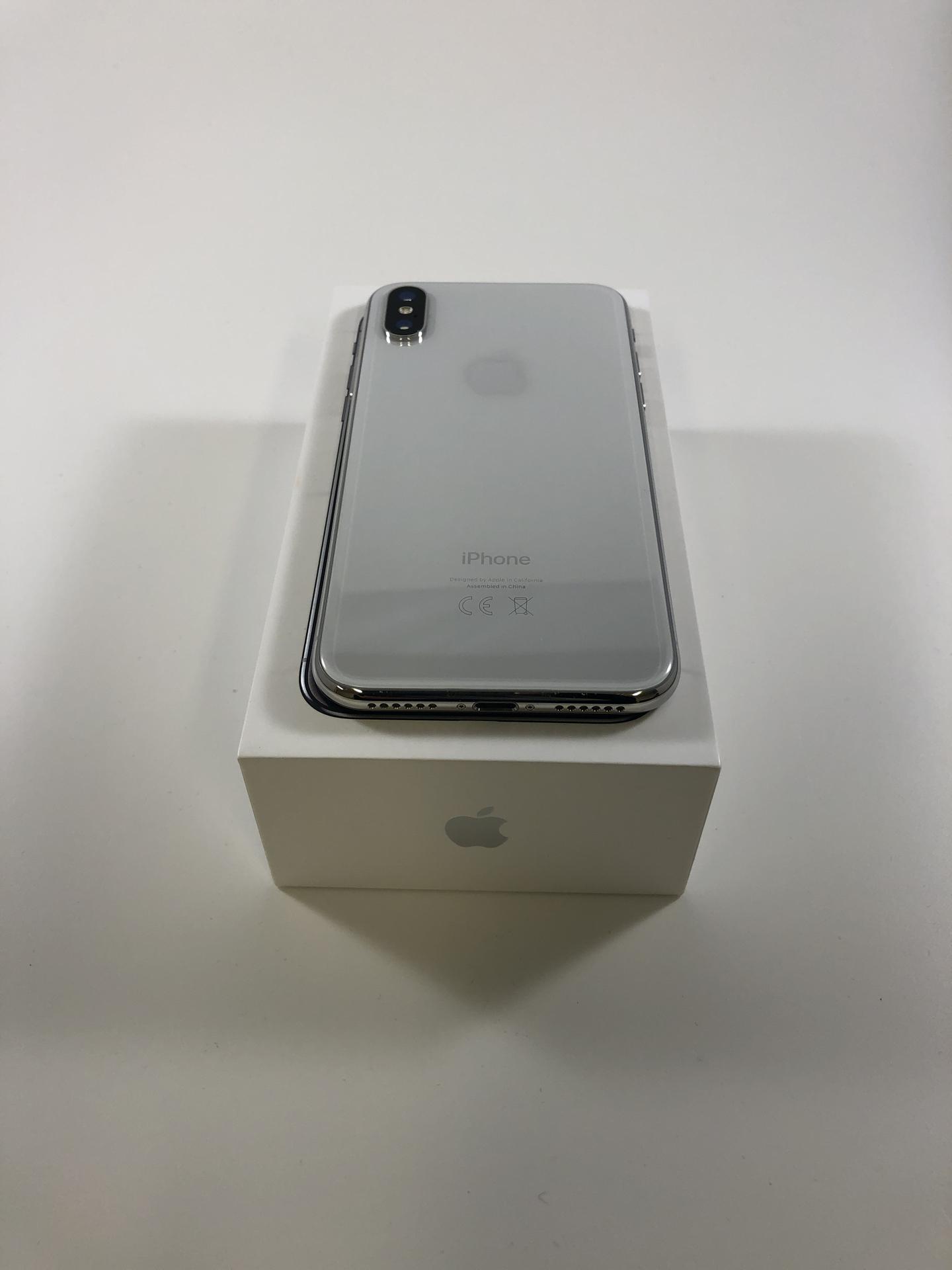 iPhone X 256GB, 256GB, Silver, Kuva 2