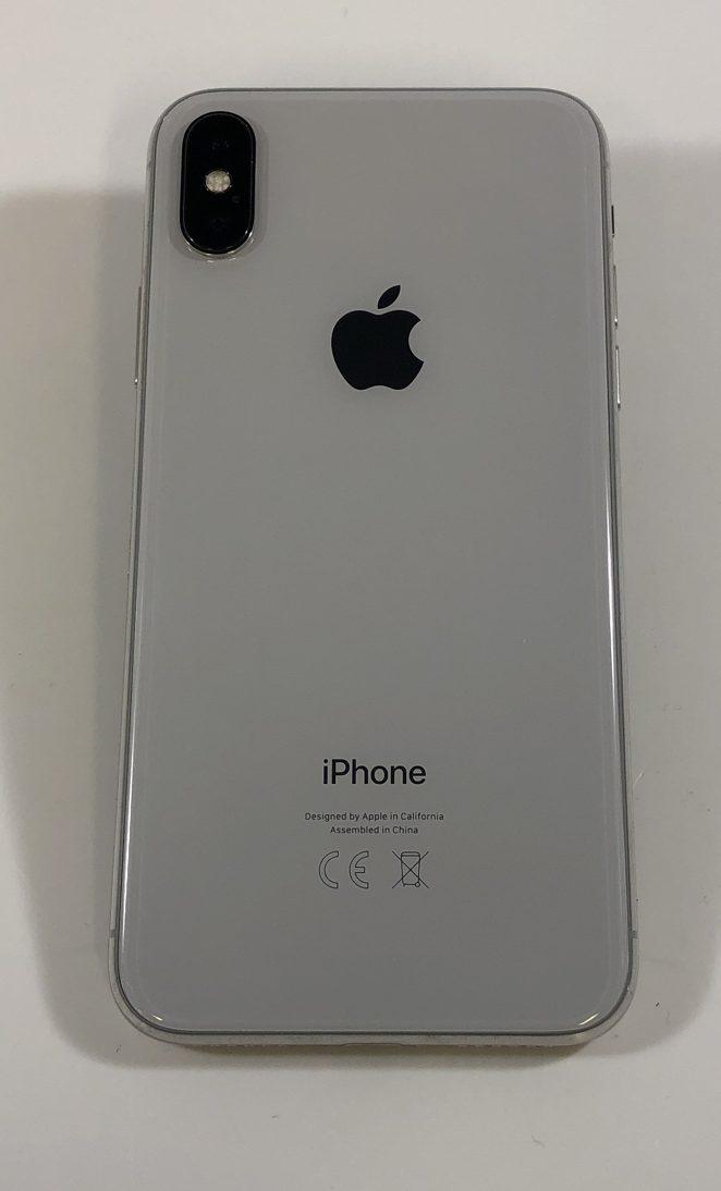 iPhone X 256GB, 256GB, Silver, Afbeelding 4