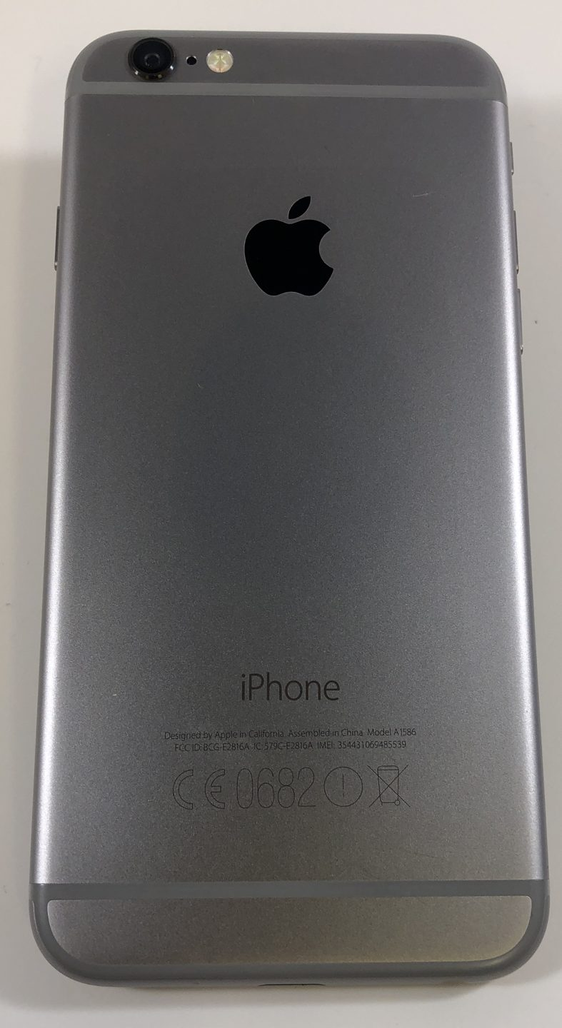iPhone 6 16GB, 16GB, Space Gray, bild 2