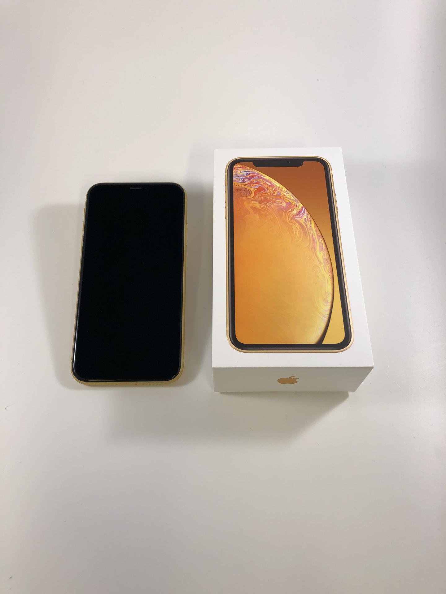 iPhone XR 64GB, 64GB, Yellow, bild 1