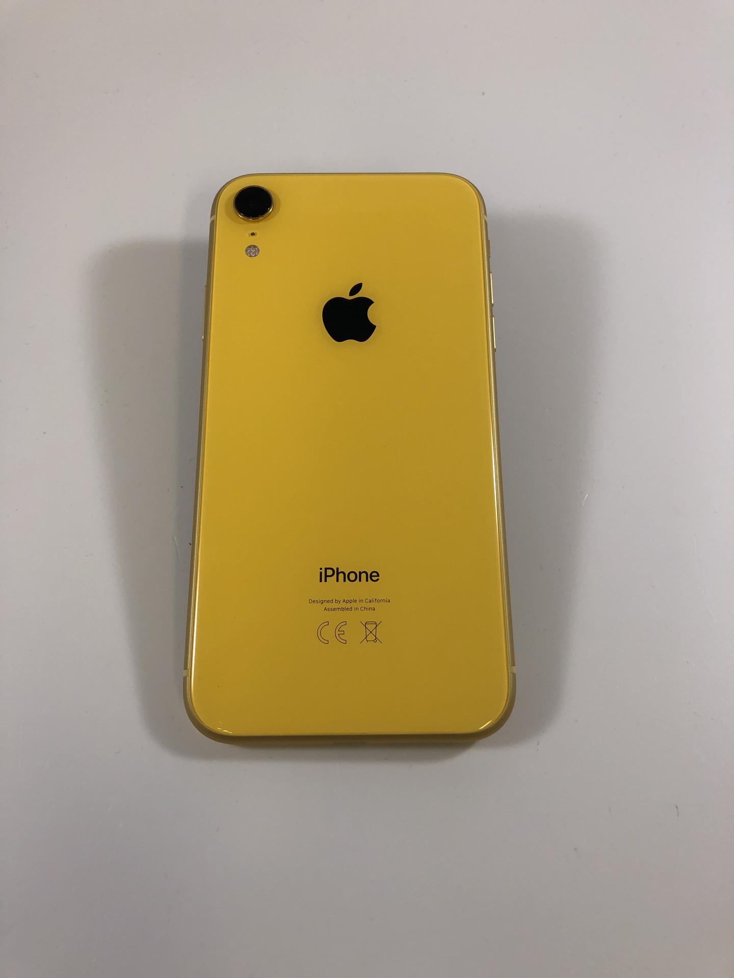iPhone XR 64GB, 64GB, Yellow, bild 3