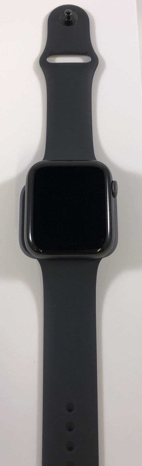 Watch Series 4 Aluminum Cellular (44mm), Space Gray, Black Sport Band, Bild 1