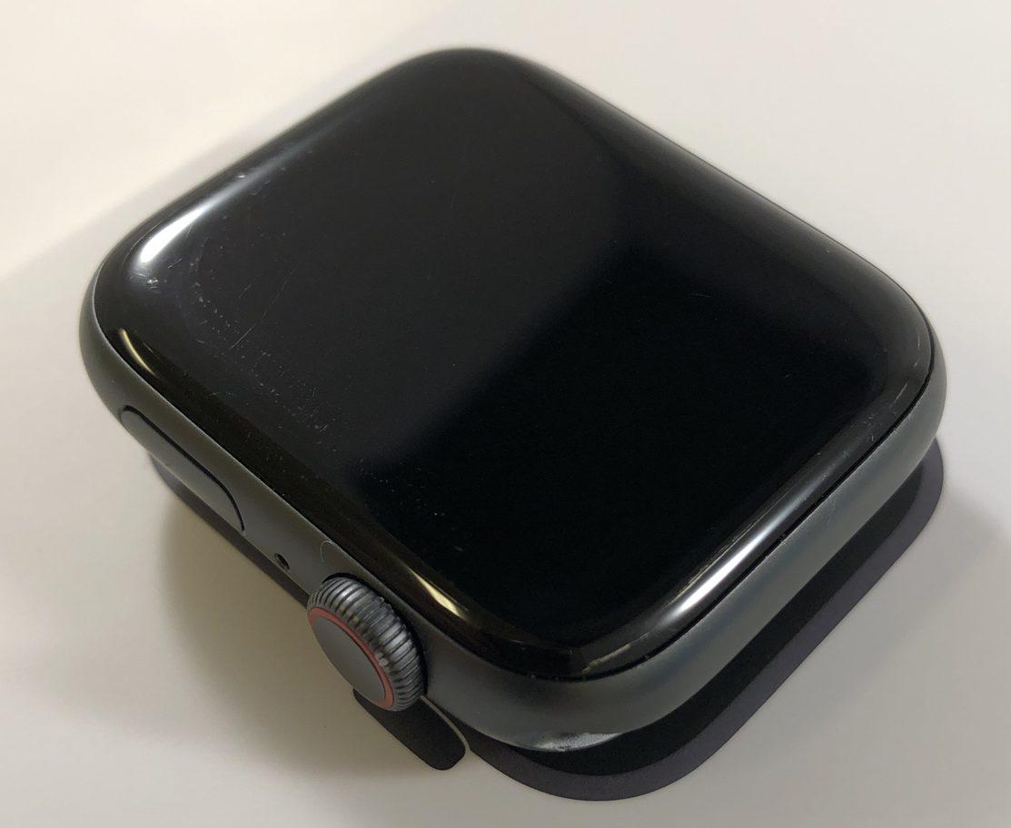 Watch Series 4 Aluminum Cellular (44mm), Space Gray, Black Sport Band, Bild 4
