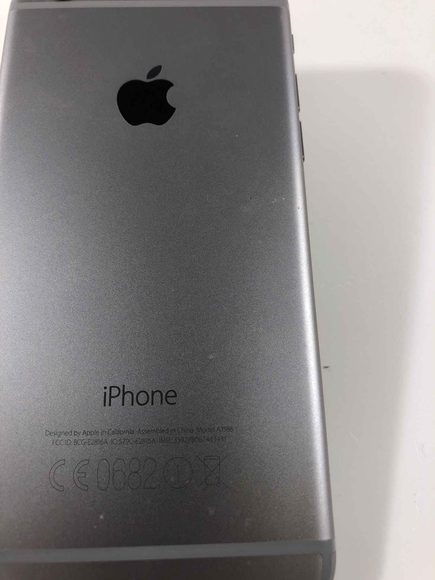 iPhone 6 16GB, 16GB, Space Gray, Kuva 3