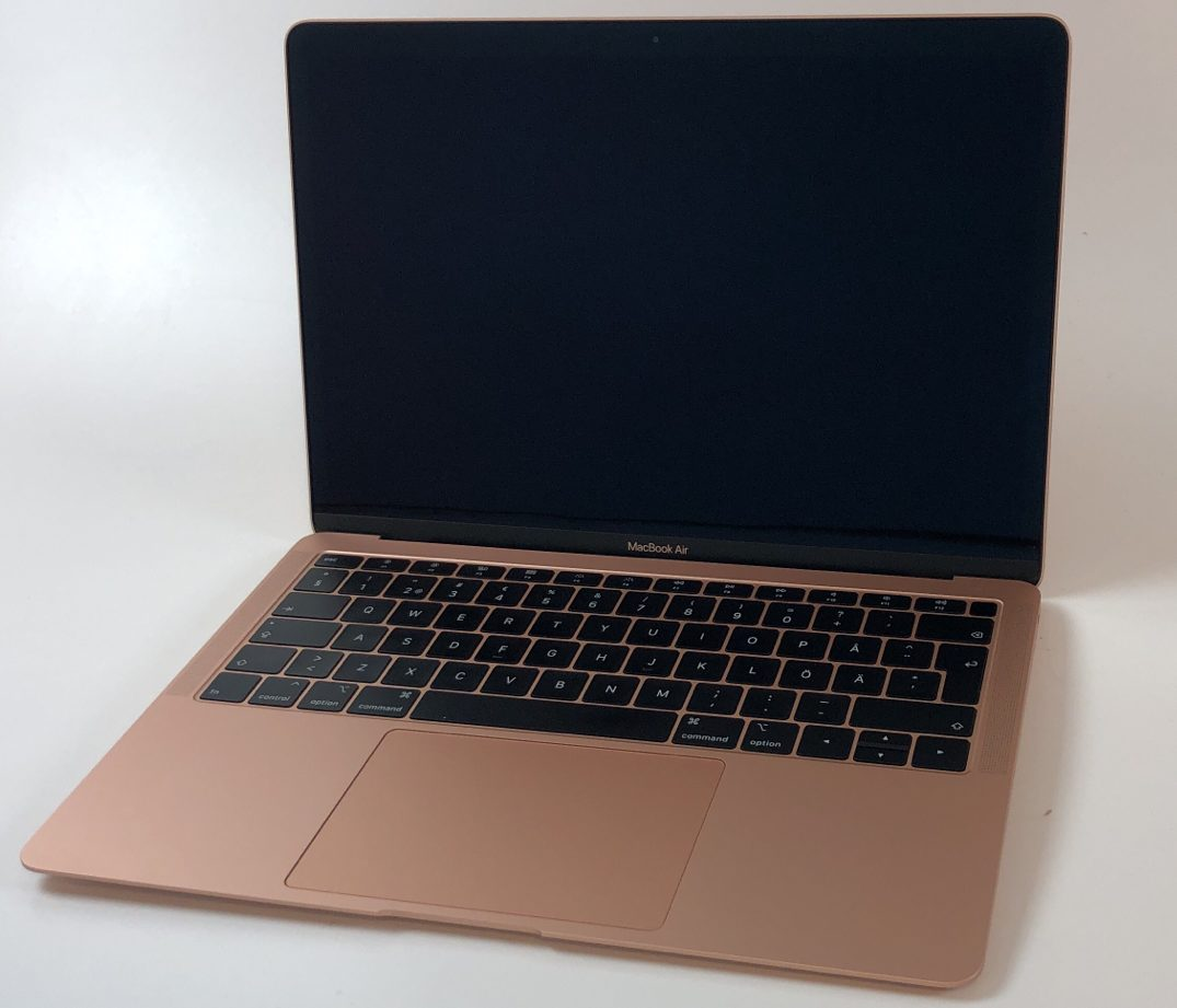 "MacBook Air 13"" Mid 2019 (Intel Core i5 1.6 GHz 8 GB RAM 128 GB SSD), Gold, Intel Core i5 1.6 GHz, 8 GB RAM, 128 GB SSD, bild 1"