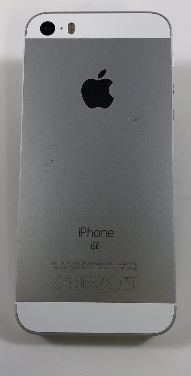 iPhone SE 64GB, 64GB, Silver, Bild 3