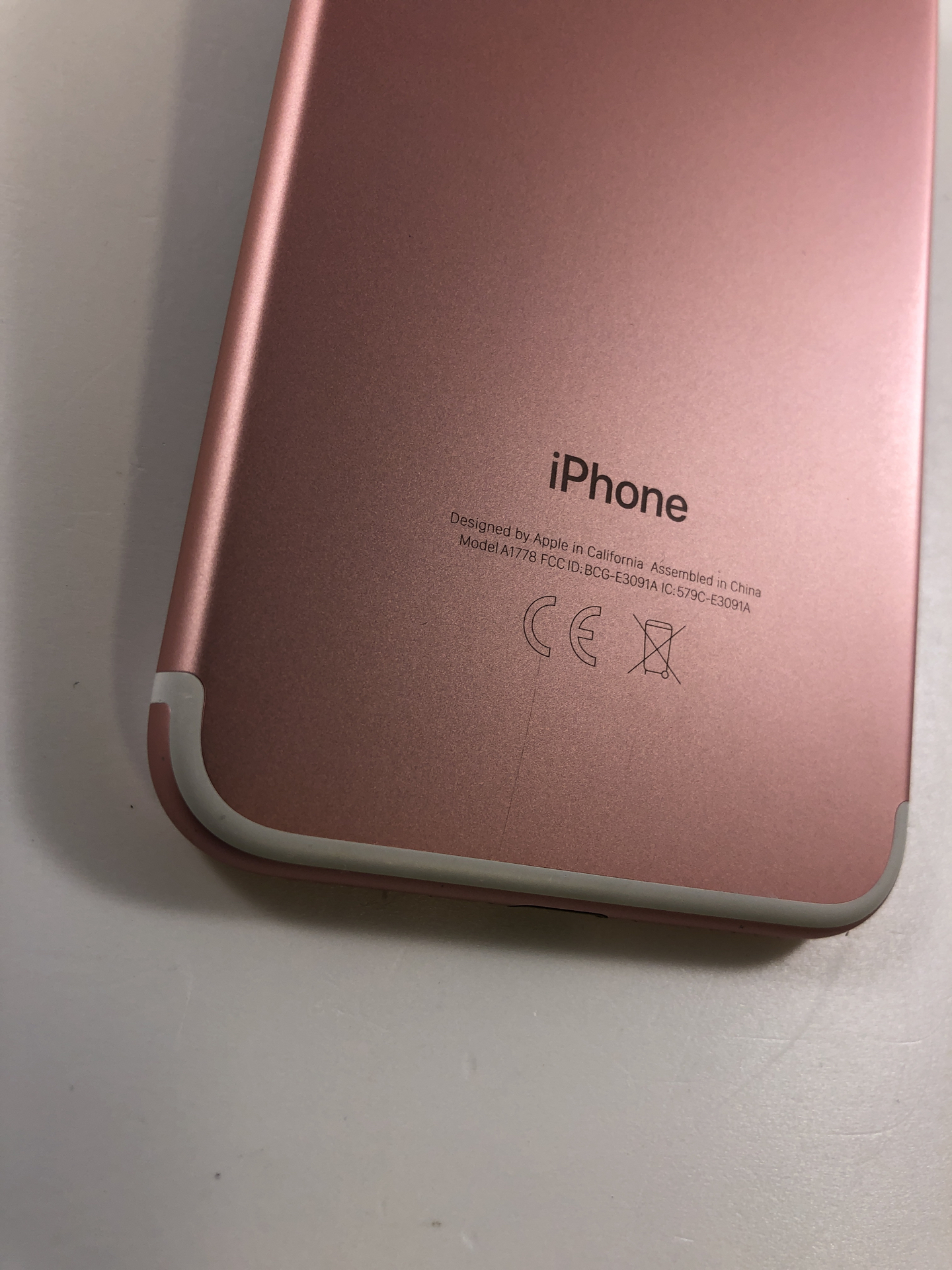 iPhone 7 32GB, 32GB, Rose Gold, imagen 3