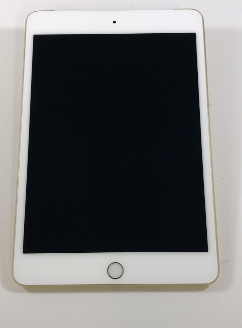 iPad mini 4 Wi-Fi + Cellular 64GB, 64GB, Gold, Afbeelding 1