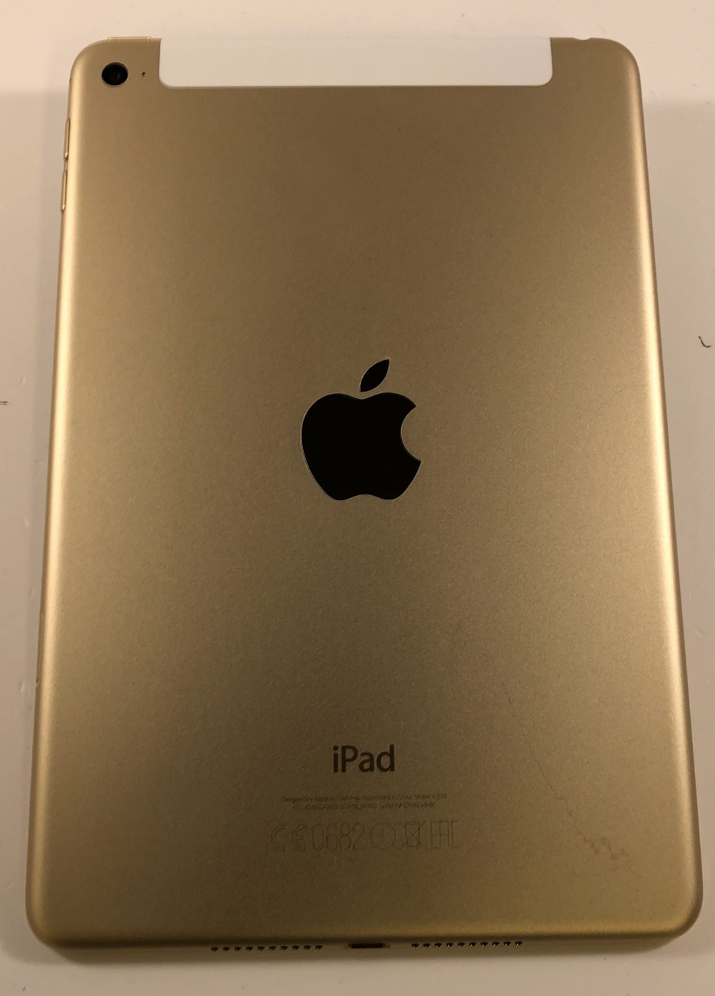 iPad mini 4 Wi-Fi + Cellular 64GB, 64GB, Gold, Afbeelding 2