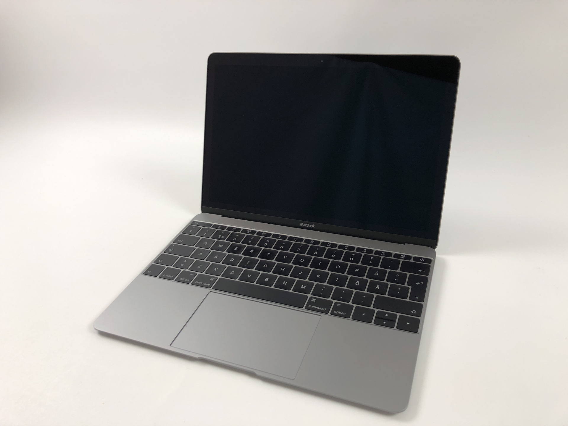 "MacBook 12"" Early 2015 (Intel Core M 1.3 GHz 8 GB RAM 512 GB SSD), Space Gray, Intel Core M 1.3 GHz, 8 GB RAM, 512 GB SSD, Kuva 1"