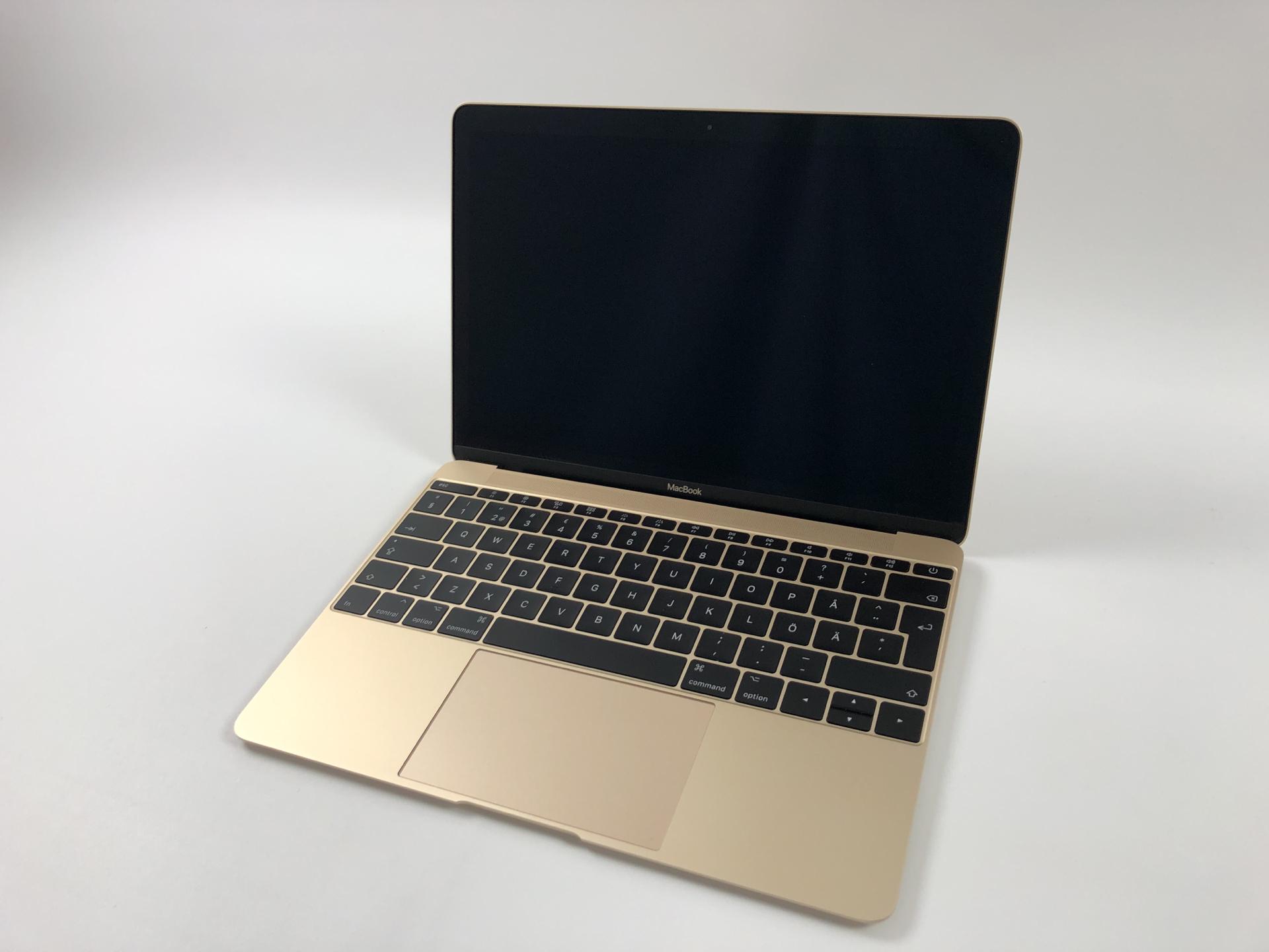 """MacBook 12"""" Mid 2017 (Intel Core m3 1.2 GHz 8 GB RAM 256 GB SSD), Gold, Intel Core m3 1.2 GHz, 8 GB RAM, 256 GB SSD, bild 1"""