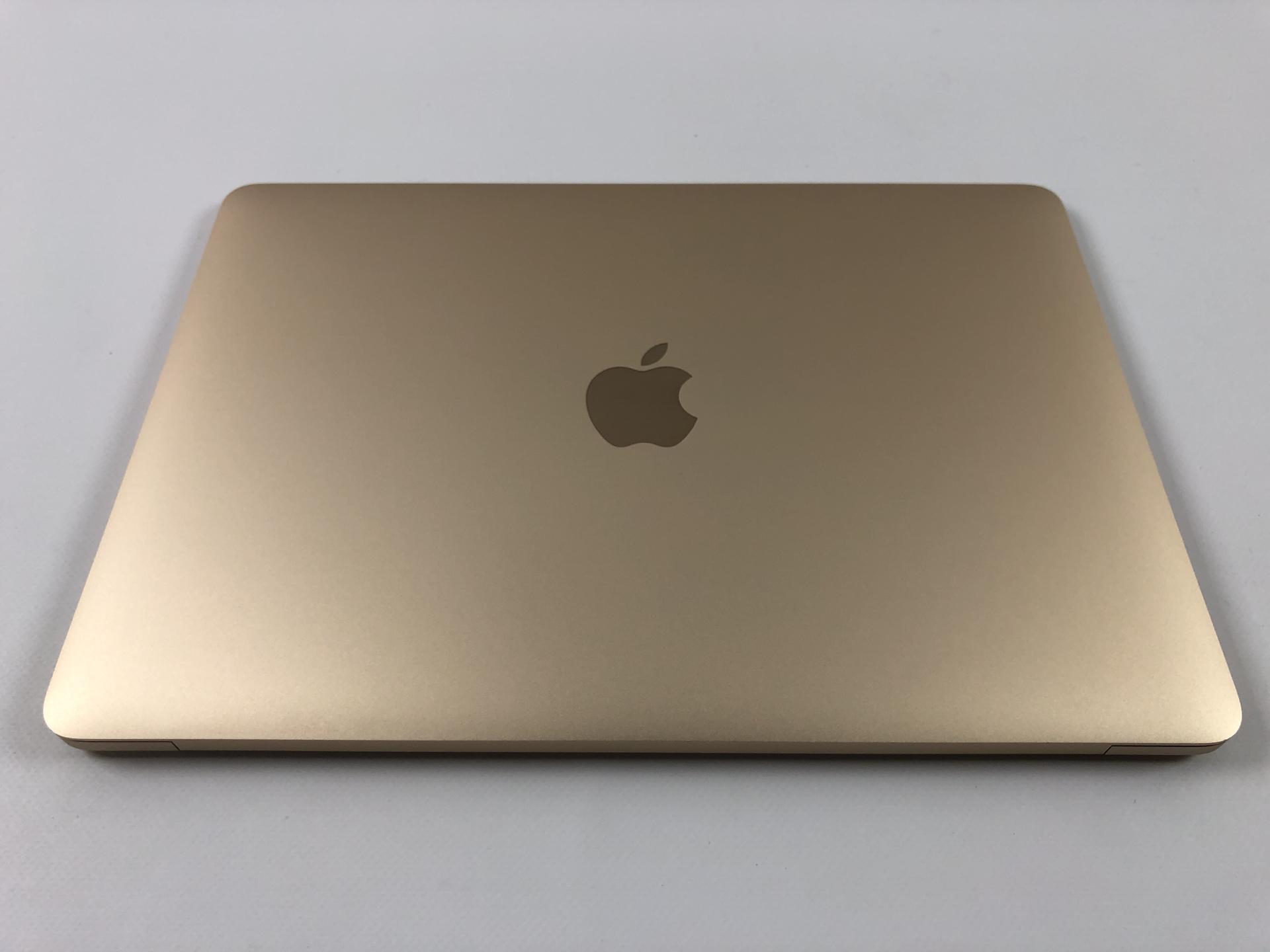 """MacBook 12"""" Mid 2017 (Intel Core m3 1.2 GHz 8 GB RAM 256 GB SSD), Gold, Intel Core m3 1.2 GHz, 8 GB RAM, 256 GB SSD, bild 2"""