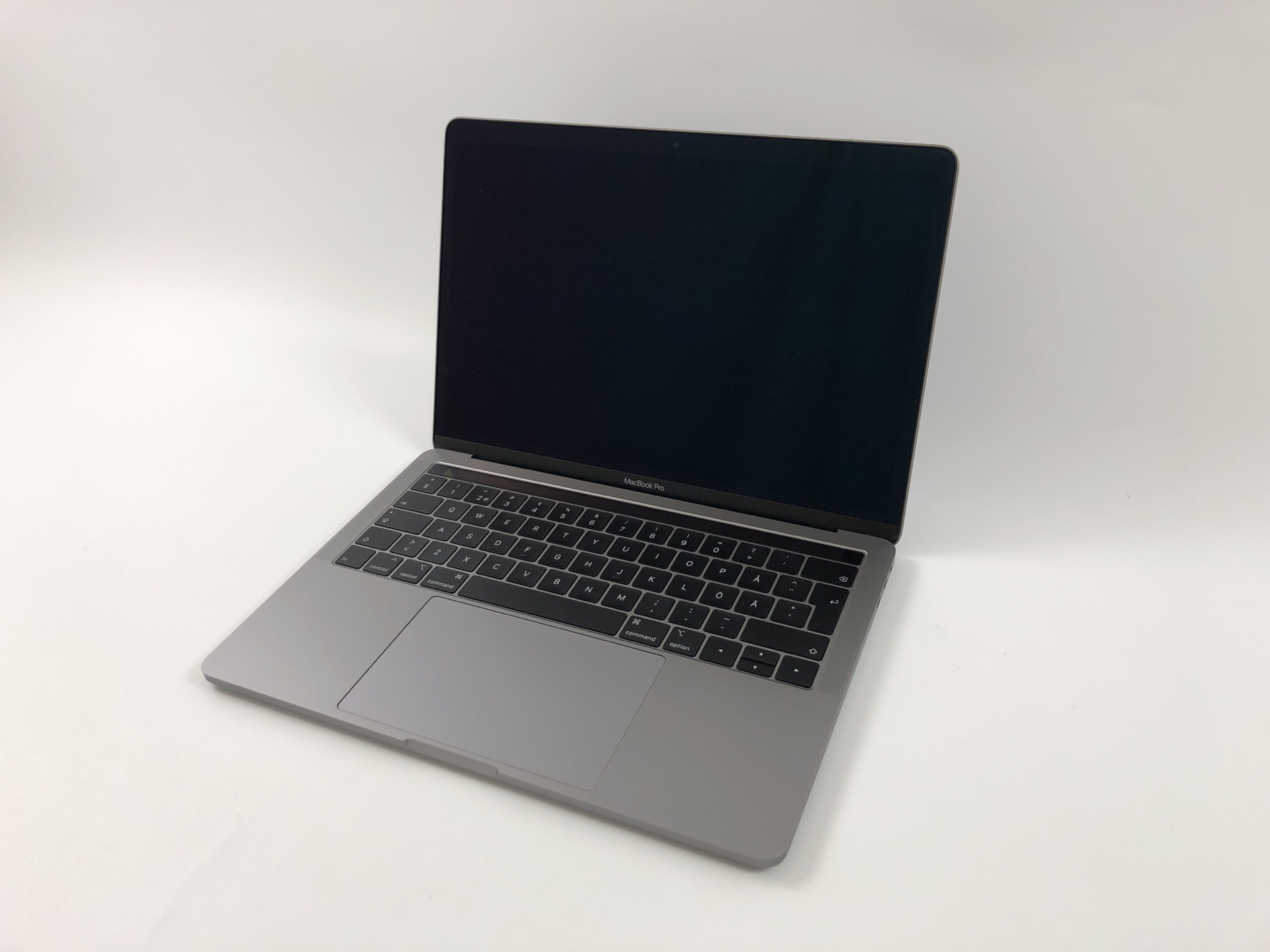 "MacBook Pro 13"" 4TBT Mid 2018 (Intel Quad-Core i5 2.3 GHz 8 GB RAM 512 GB SSD), Space Gray, Intel Quad-Core i5 2.3 GHz, 8 GB RAM, 512 GB SSD, Kuva 1"