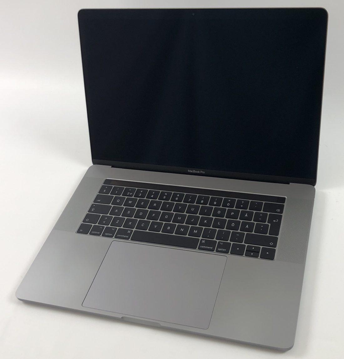 """MacBook Pro 15"""" Touch Bar Mid 2017 (Intel Quad-Core i7 2.8 GHz 16 GB RAM 512 GB SSD), Space Gray, Intel Quad-Core i7 2.8 GHz, 16 GB RAM, 512 GB SSD, bild 1"""
