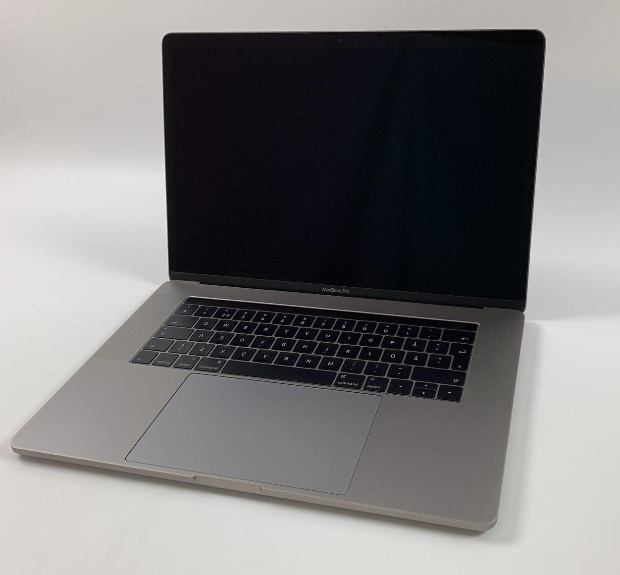 "MacBook Pro 15"" Touch Bar Late 2016 (Intel Quad-Core i7 2.6 GHz 16 GB RAM 256 GB SSD), Space Gray, Intel Quad-Core i7 2.6 GHz, 16 GB RAM, 256 GB SSD, Kuva 1"