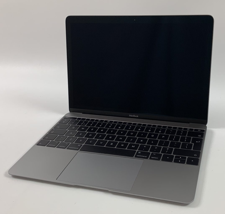 """MacBook 12"""" Mid 2017 (Intel Core m3 1.2 GHz 8 GB RAM 256 GB SSD), Space Gray, Intel Core m3 1.2 GHz, 8 GB RAM, 256 GB SSD, bild 1"""