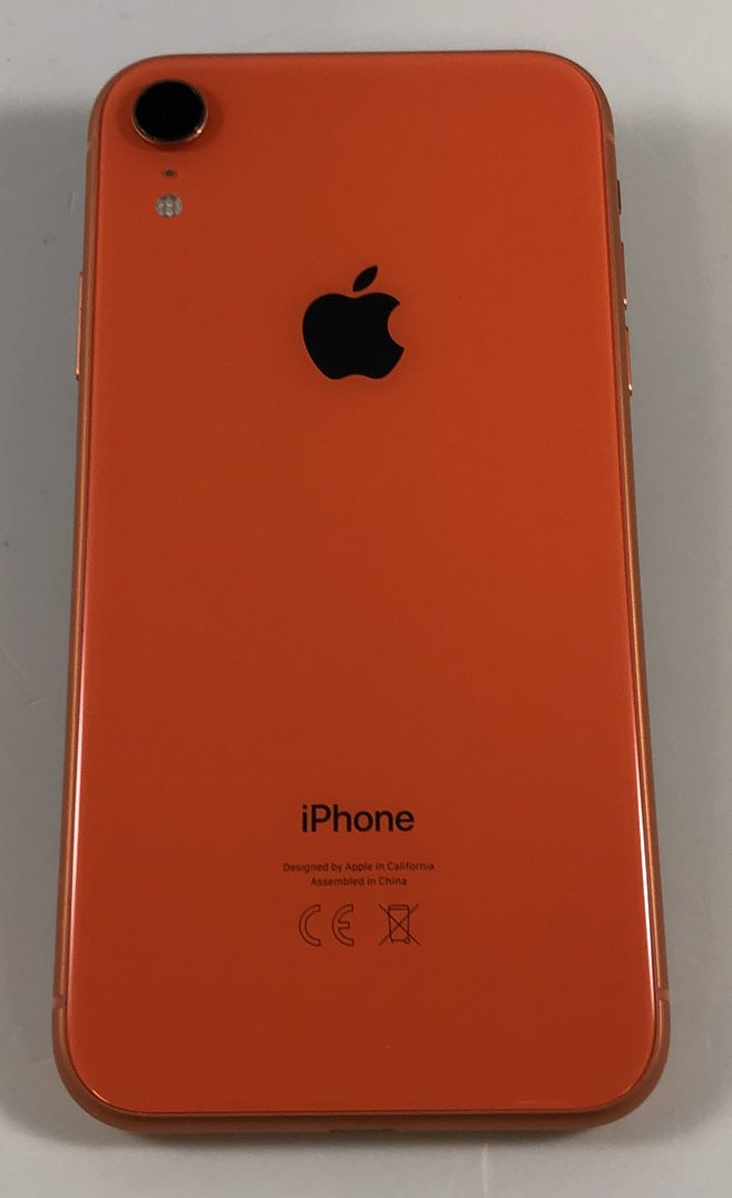 iPhone XR 128GB, 128GB, Coral, Kuva 2
